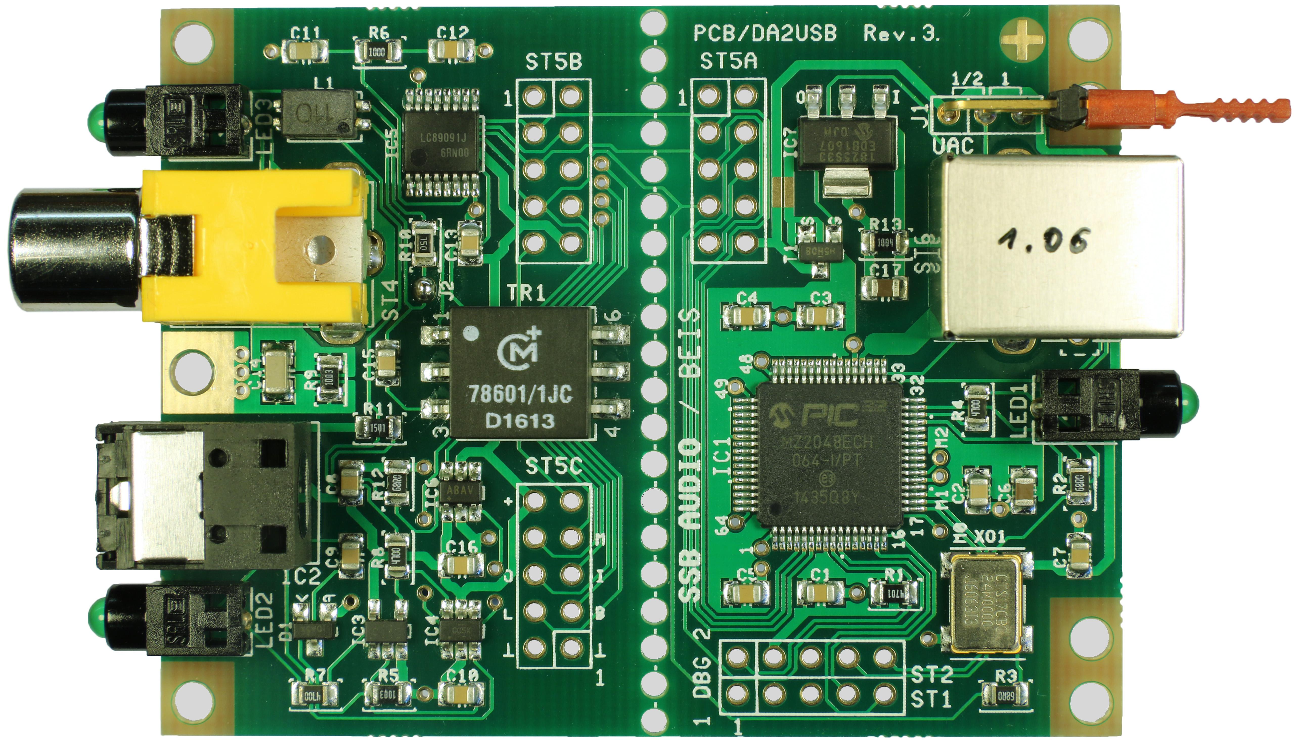 XLR Output USB to AES3 Converter